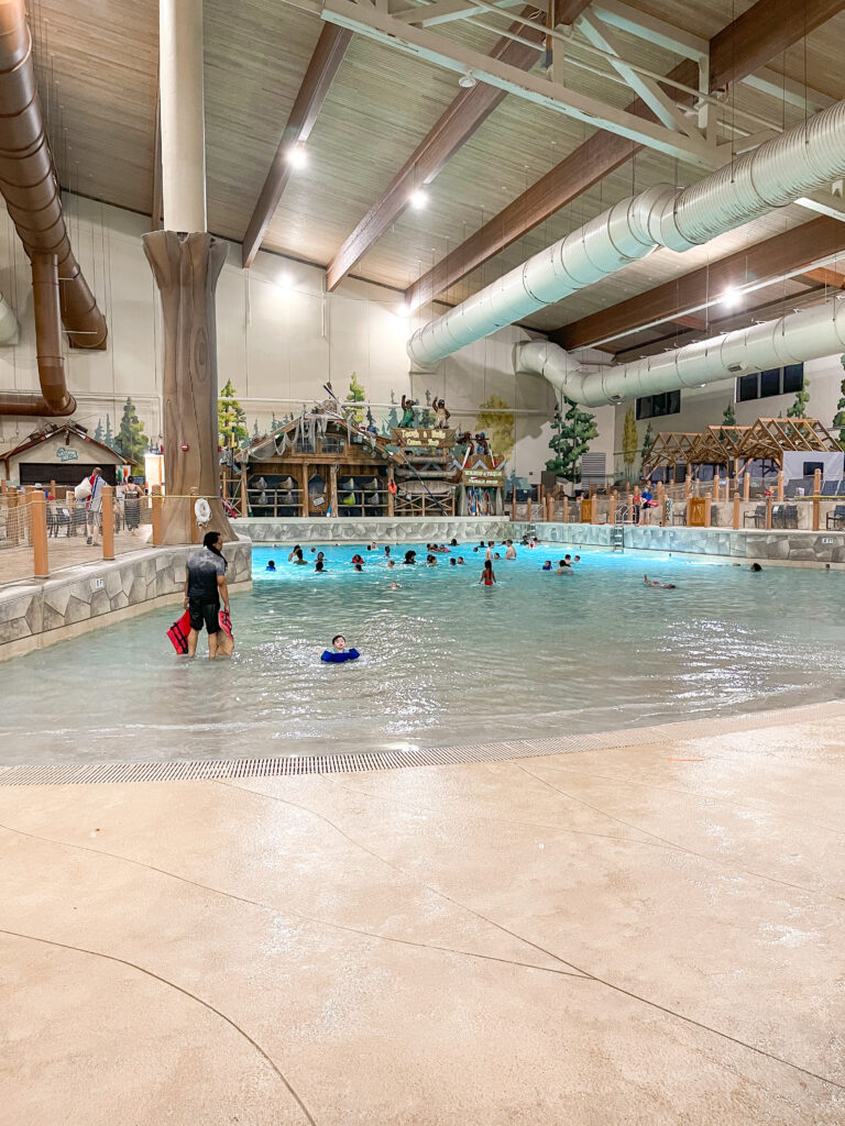 Great Wolf Lodge wave pool.