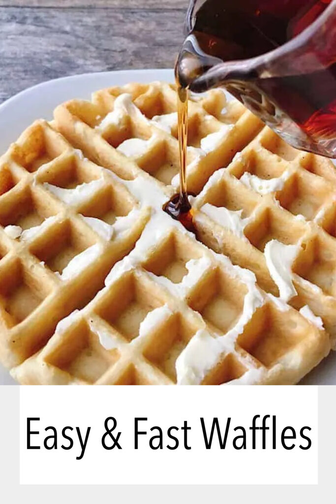 Easy & Fast Waffles