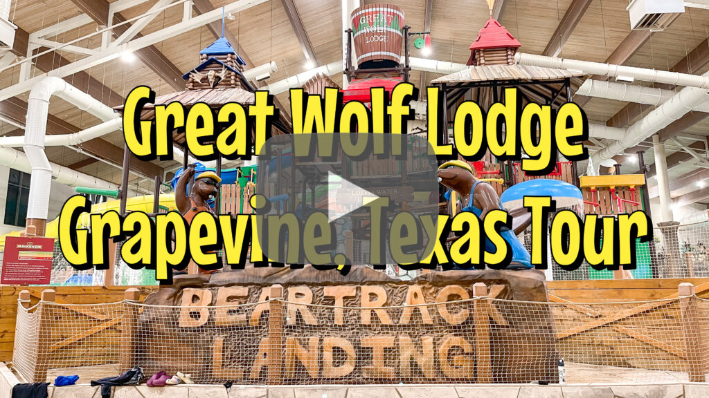 YouTube Thumbnail for Great Wolf Lodge Texas.