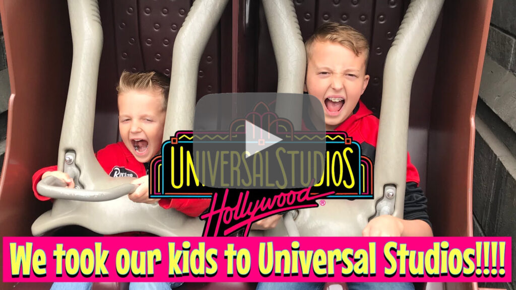 YouTube thumbnail for Universal Studios with Kids!