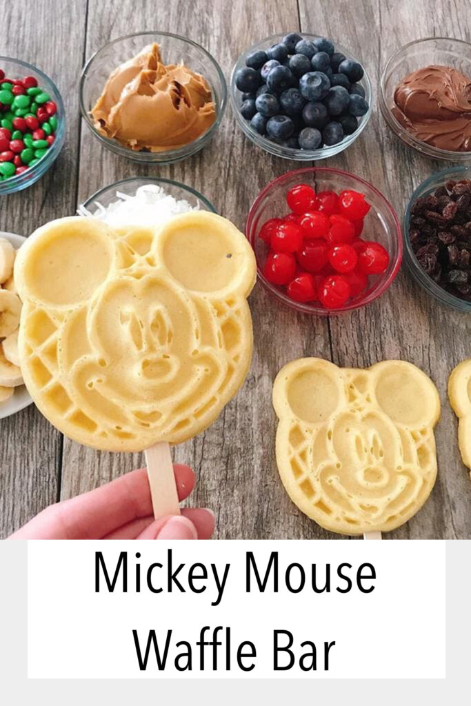 Mickey Mouse Waffle Bar