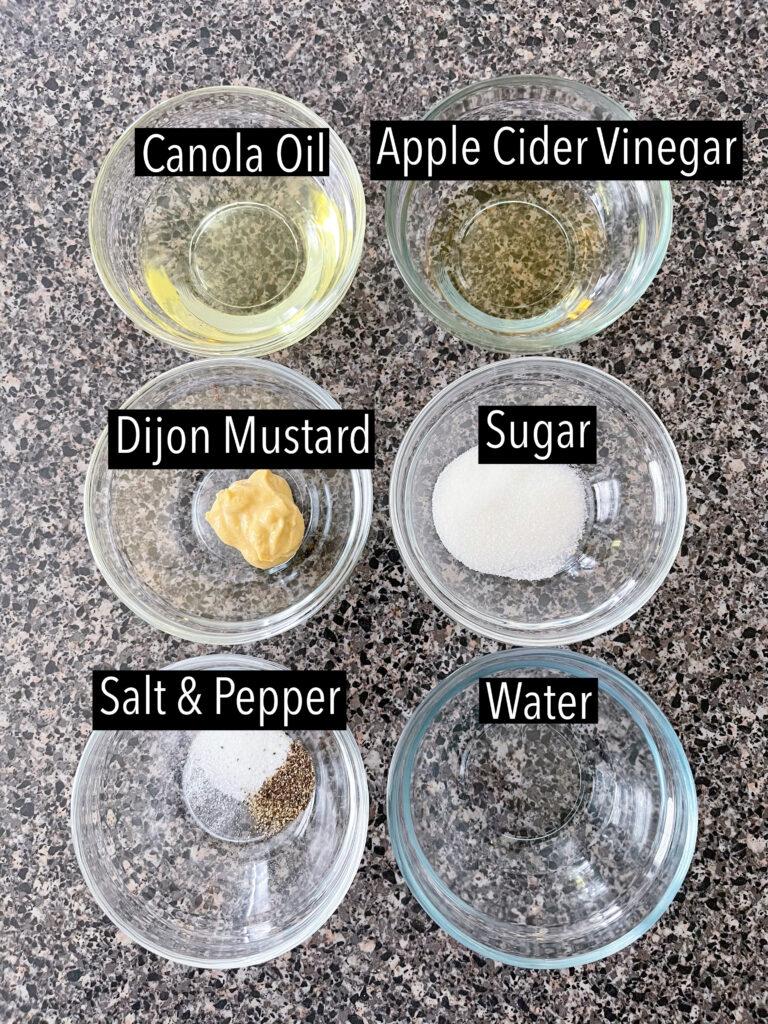Ingredients for Honeycrisp Apple Harvest Salad.