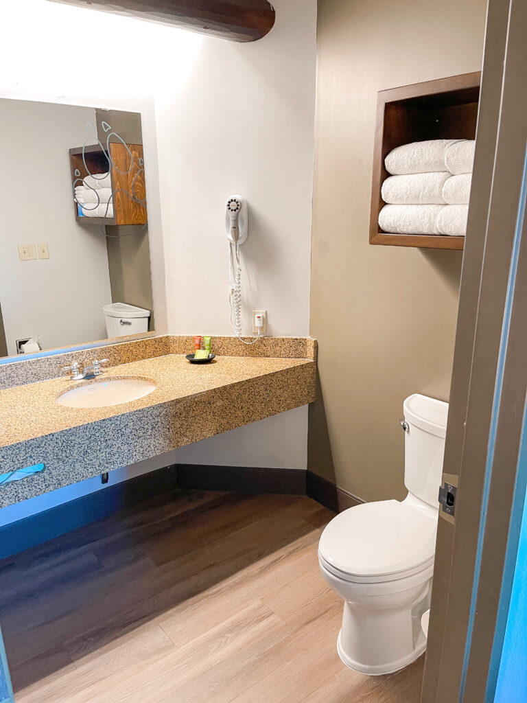Grizzly Bear Suite Master Bathroom.