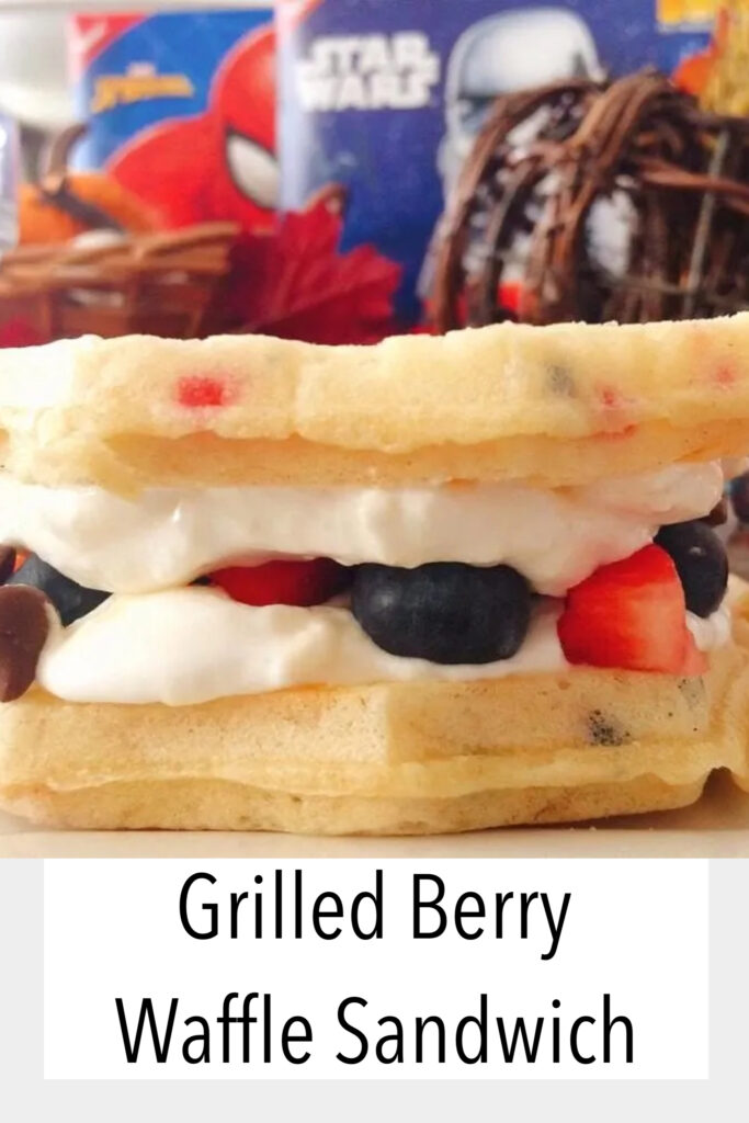 Grilled Berry Waffle Sandwich