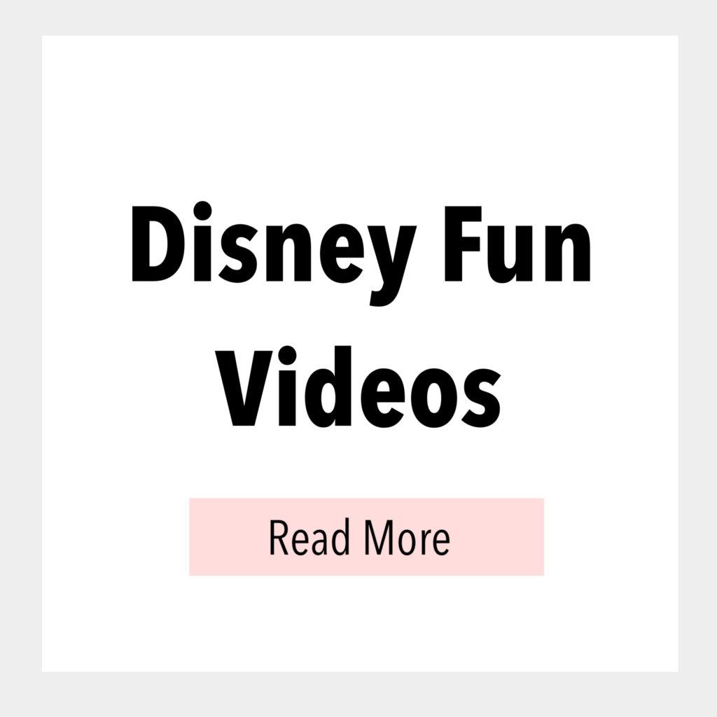 Disney Fun Videos