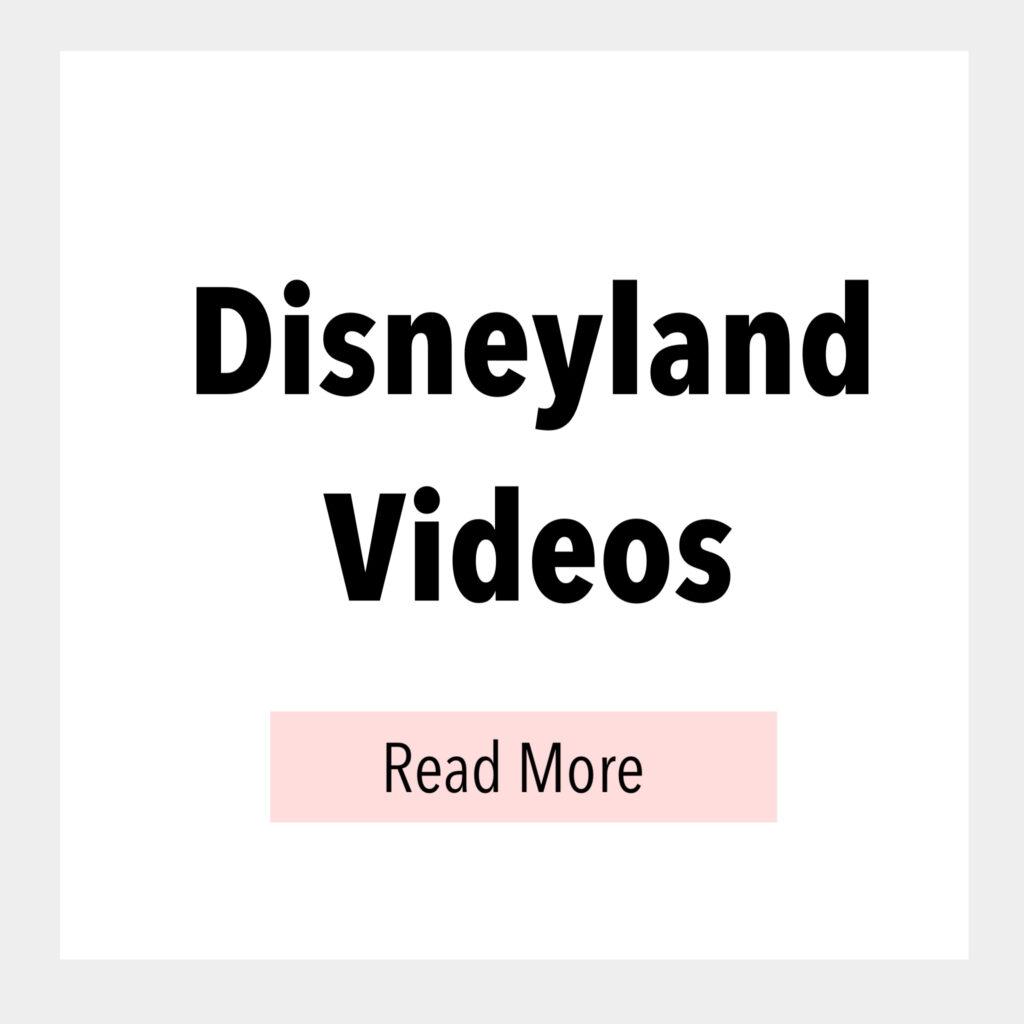 Disneyland Videos