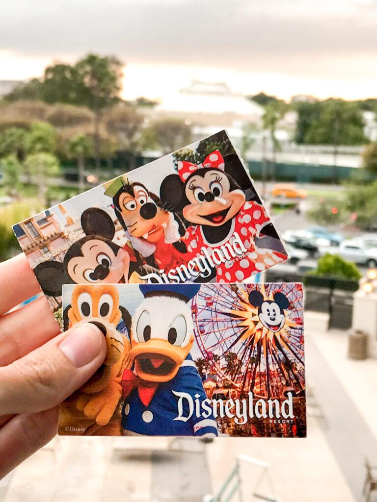 Disneyland tickets.