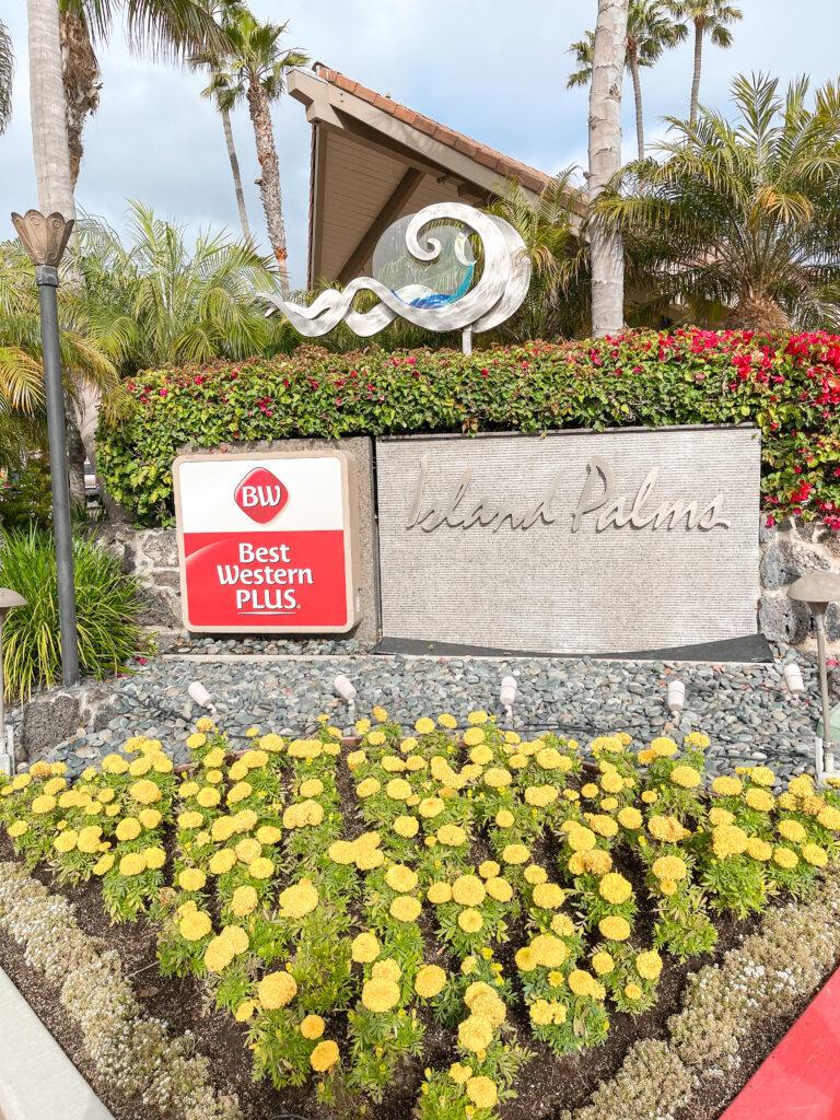 Best Western Island Palms Hotel in San Diego, California.