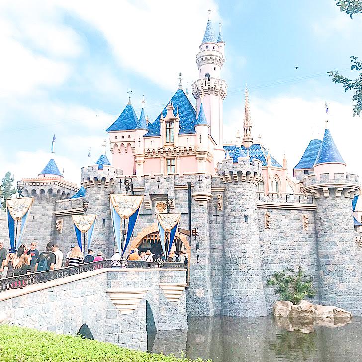 Sleeping Beauty Castle at Disneyland.