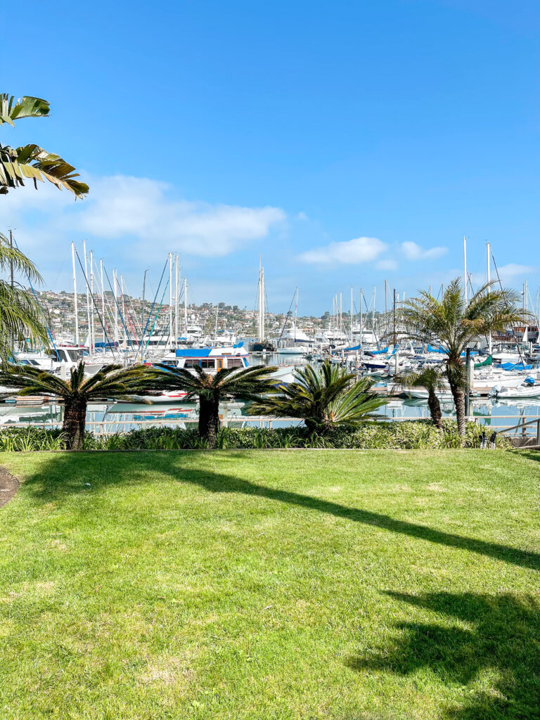 Marina view at Best Western Island Palms.
