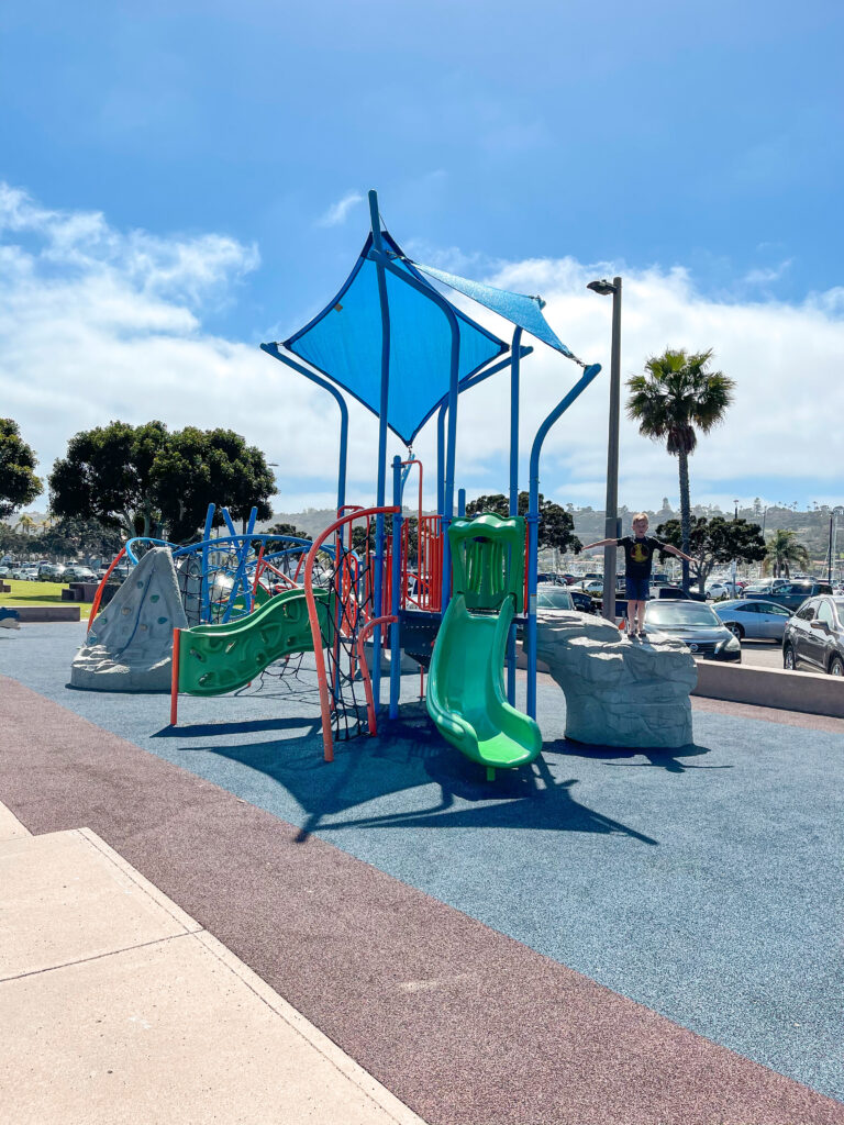 Playground on Shelter Island in San Diego.