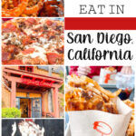 The best places to eat in San Diego Pinterest image.