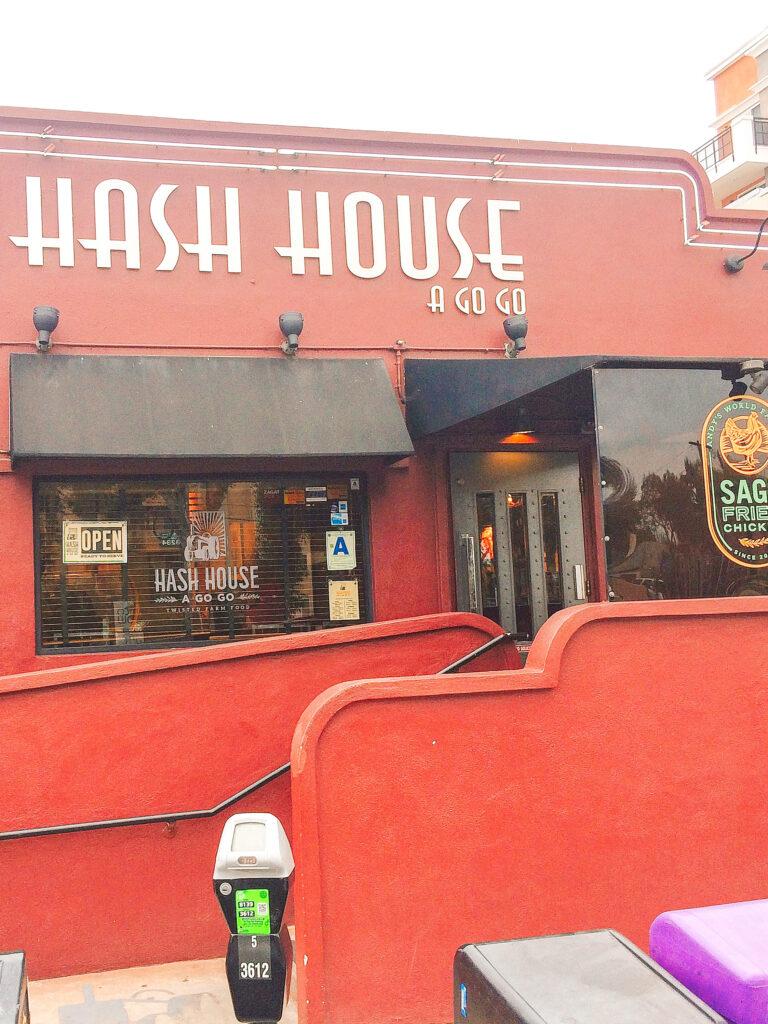 Entrance to Hash House A Go Go in San Diego.