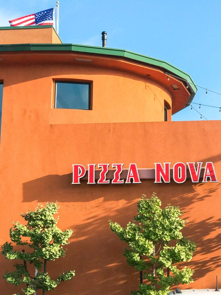Pizza Nova in San Diego California.