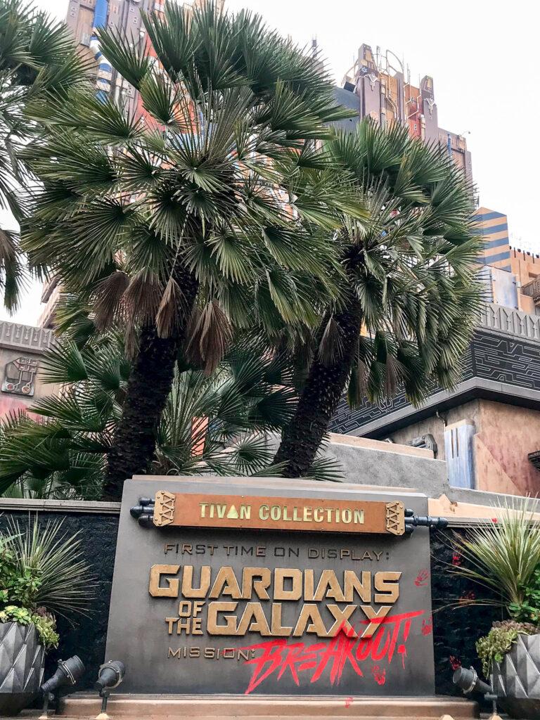 Guardians of the Galaxy at Disneyland.