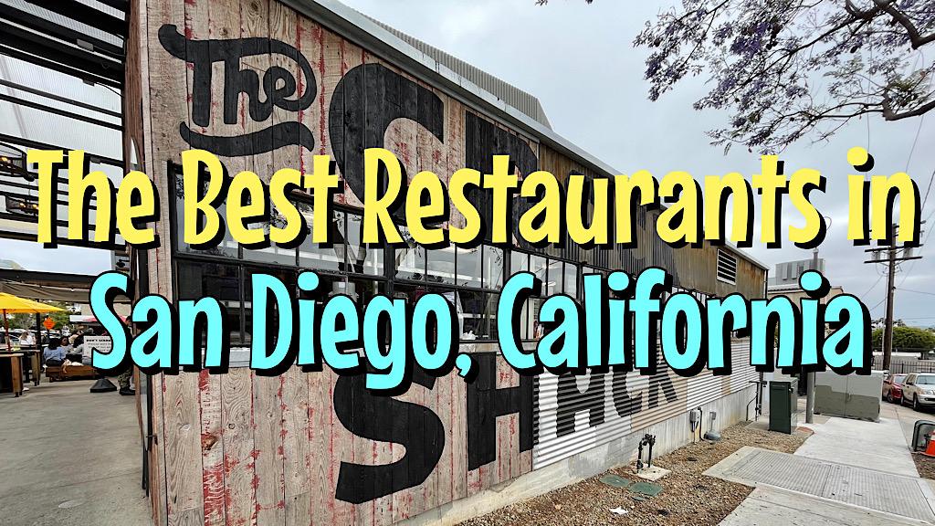 Best Restaurants in San Diego, California.