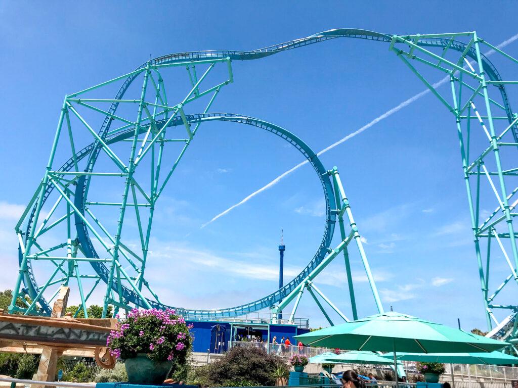 Electric Eel roller coaster.