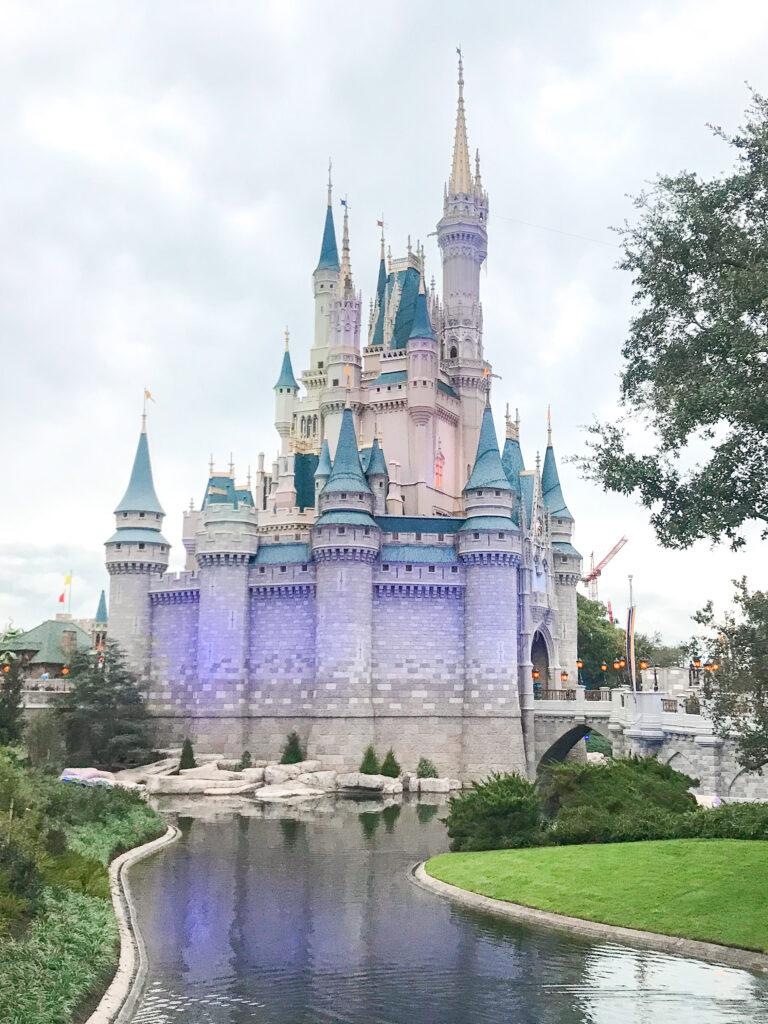 Cinderella Castle at Disney World.