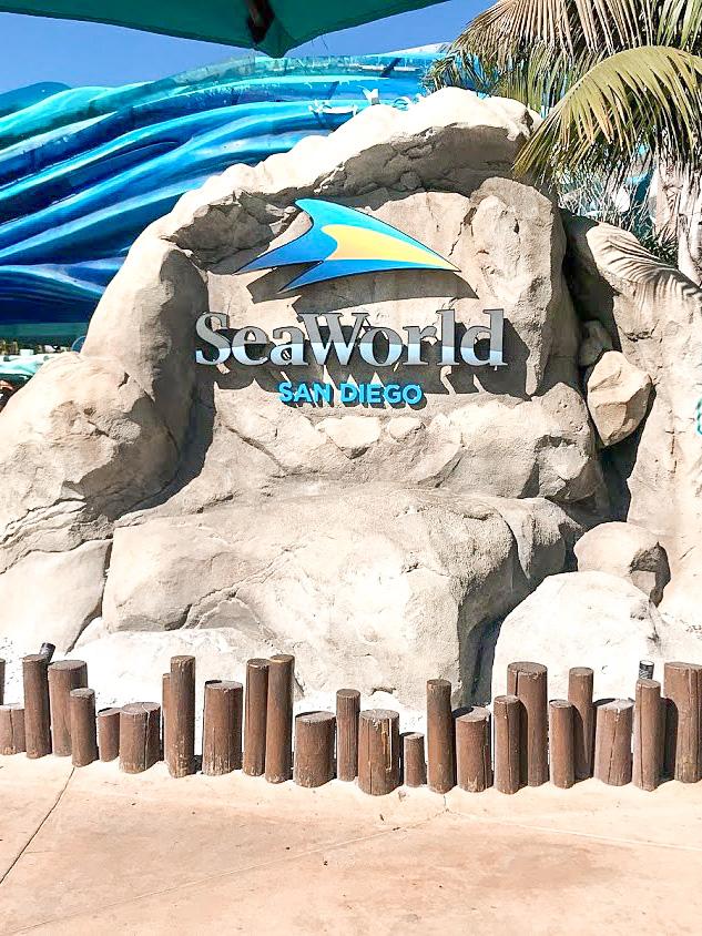 Entrance to Sea World San Diego.