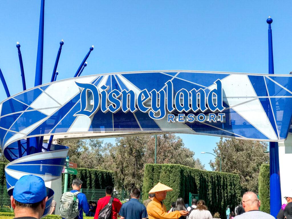 Disneyland sign on Harbor Blvd.