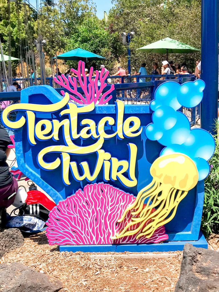 Tentacle Twirl ride at Sea World.