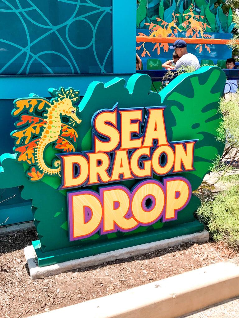 Sea Dragon Drop at Sea World.