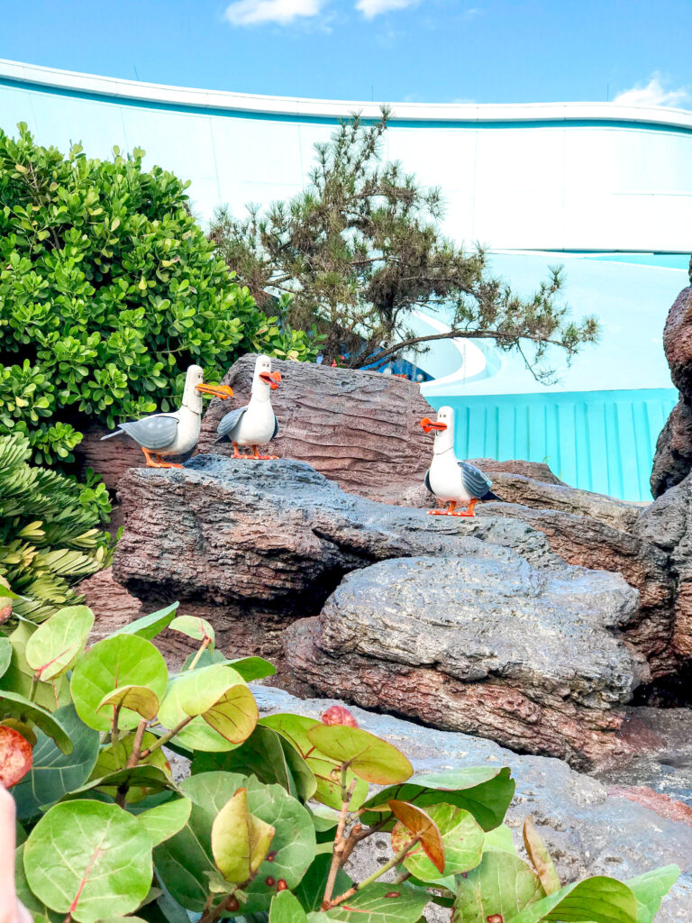 The Seas with Nemo and Friends at Epcot.