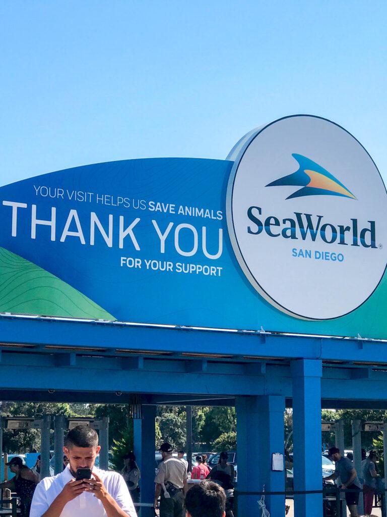 Exit at Sea World San Diego.