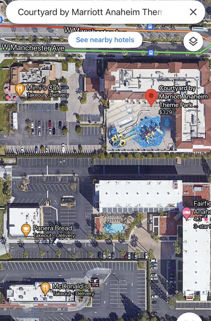 Other dining options near Courtyard Anaheim Theme Park Entrance.