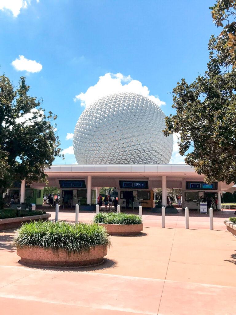 Epcot at Disney World.