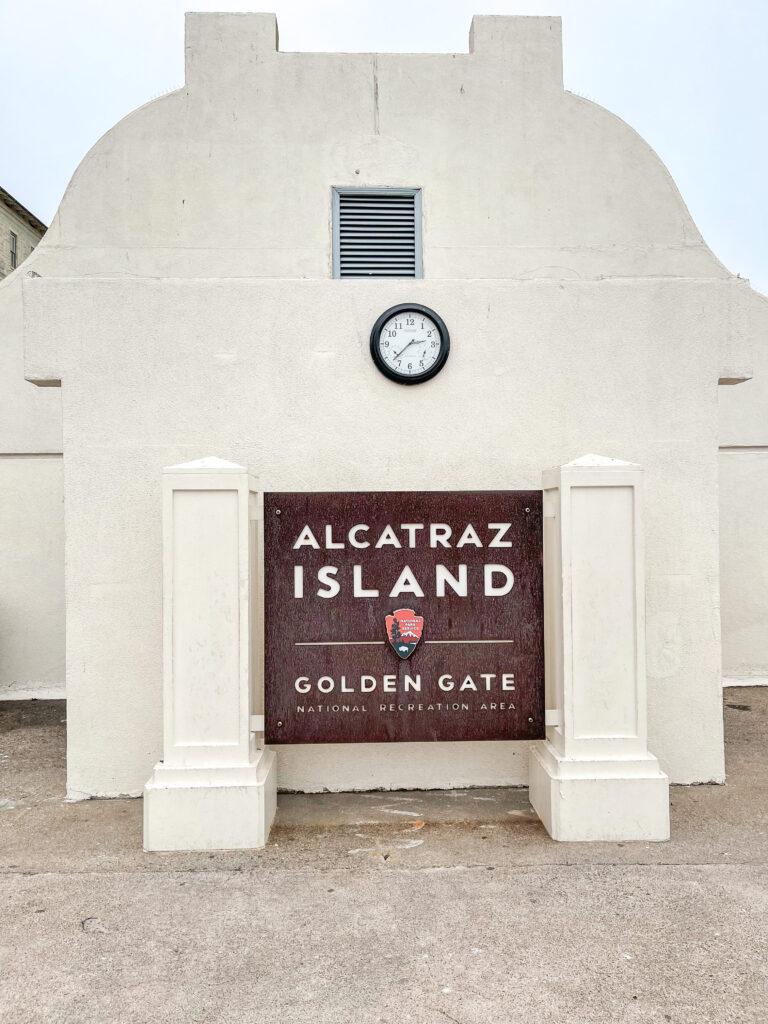 Alcatraz Island in San Franciso Bay.