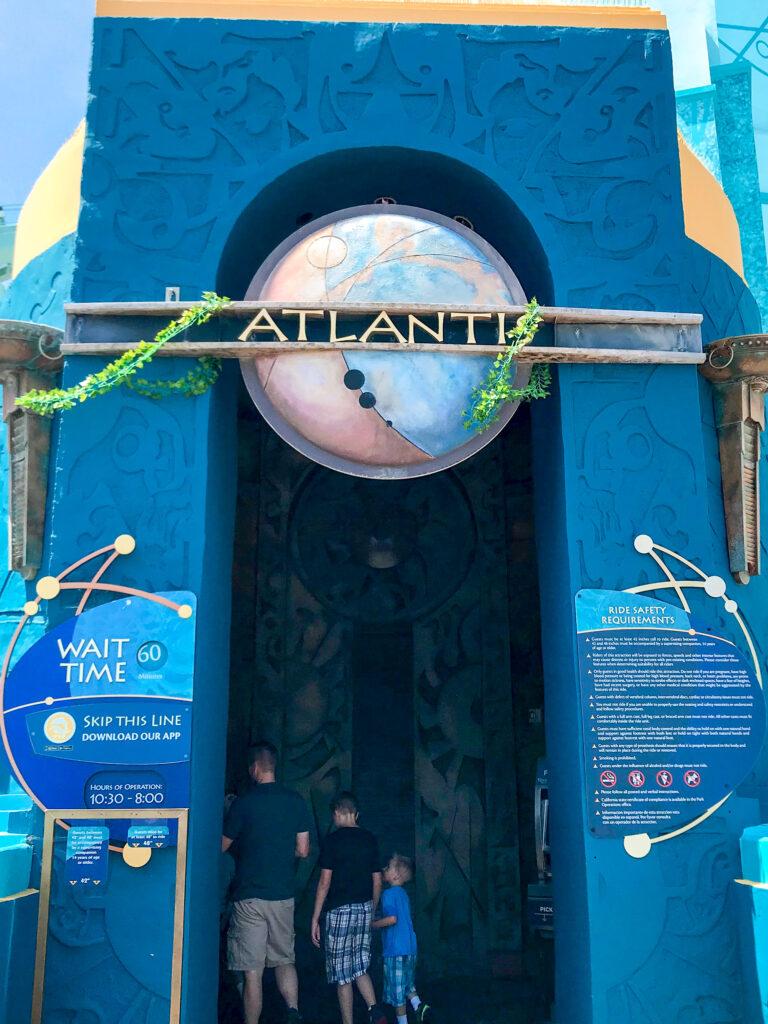 Entrance to Journey to Atlantis
