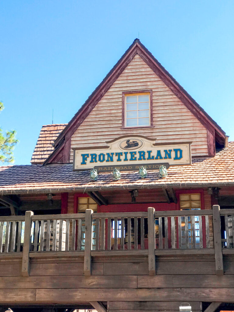 Frontierland at Disney's Magic Kingdom Park.