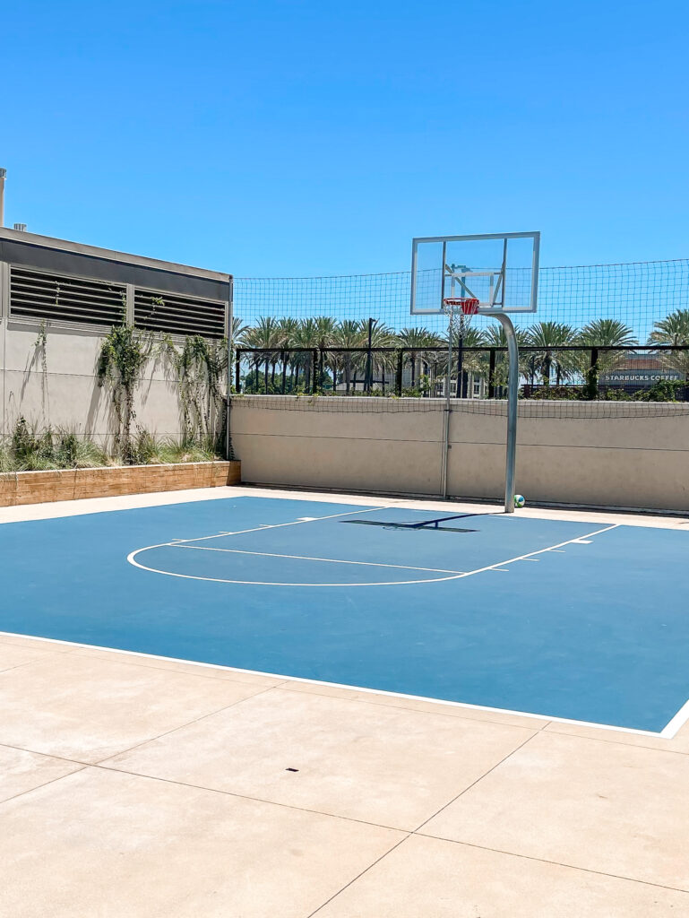 Basketball Court at Cambria.