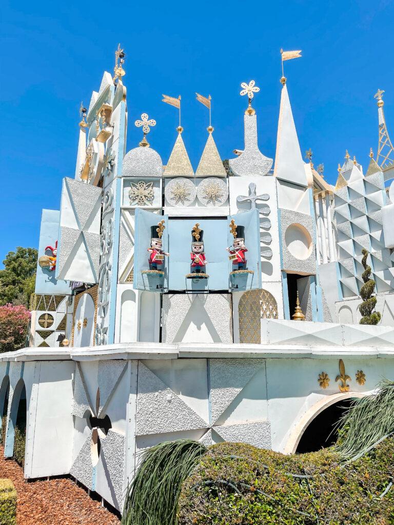 """it's a small world"" at Disneyland."