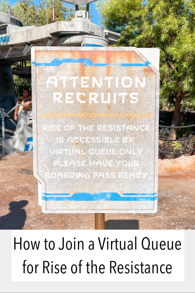 How to get in a Virtual Queue for Rise of the Resistance.
