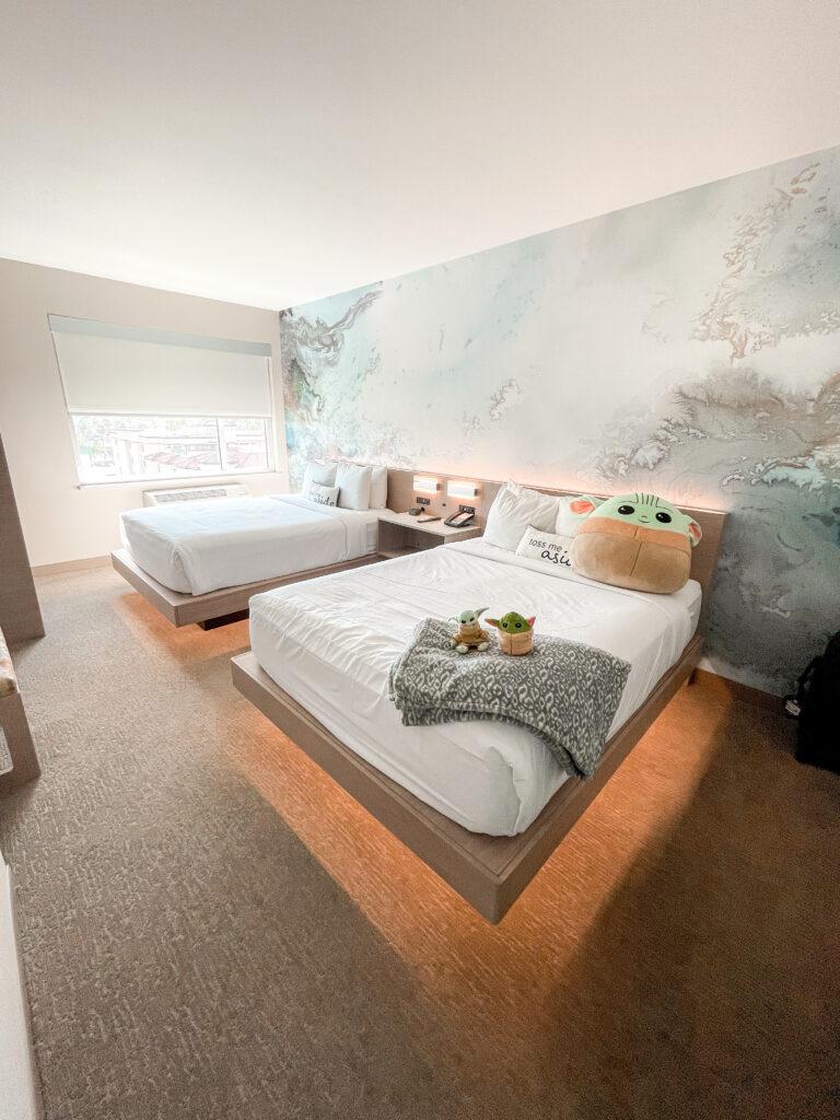 Queen suite at Cambria Hotel & Suites Anaheim.