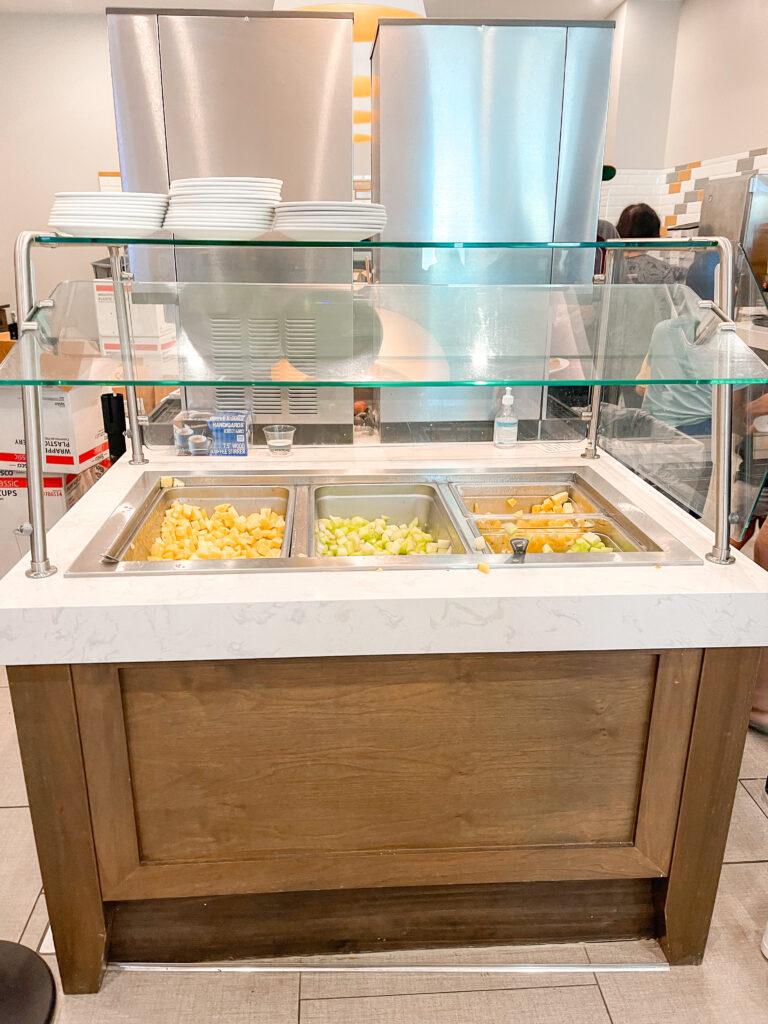 Fresh fruit at Cambria Suites.
