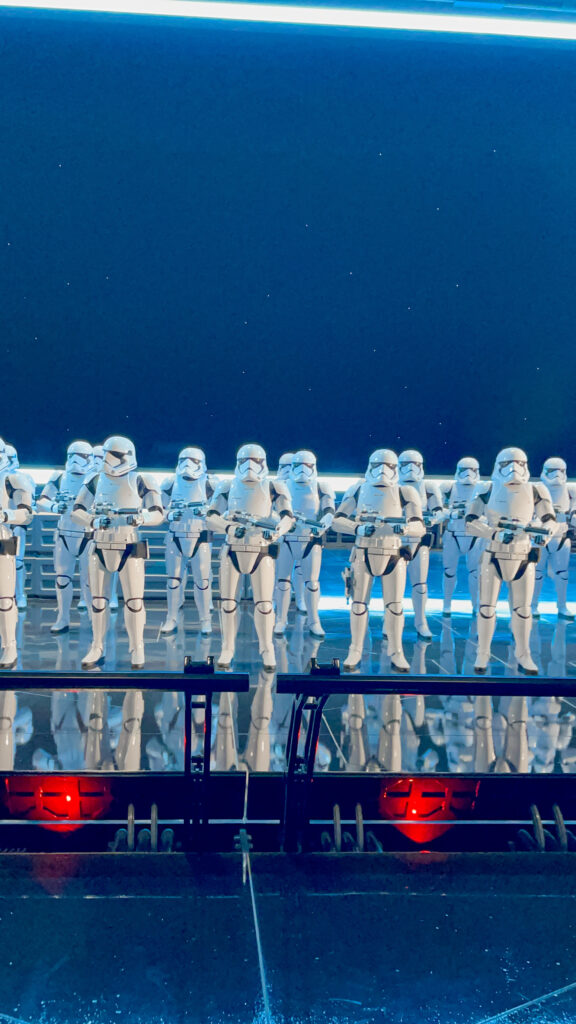 Storm Troopers in Rise of the Resistance.