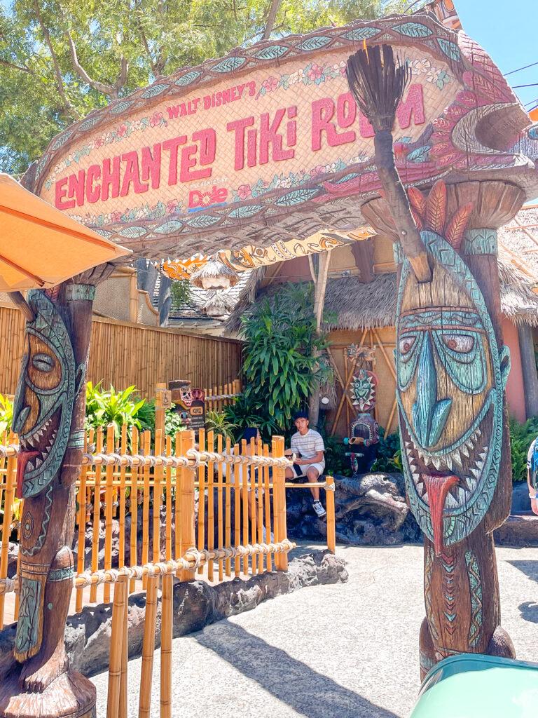 Enchanted Tiki Room at Disneyland.