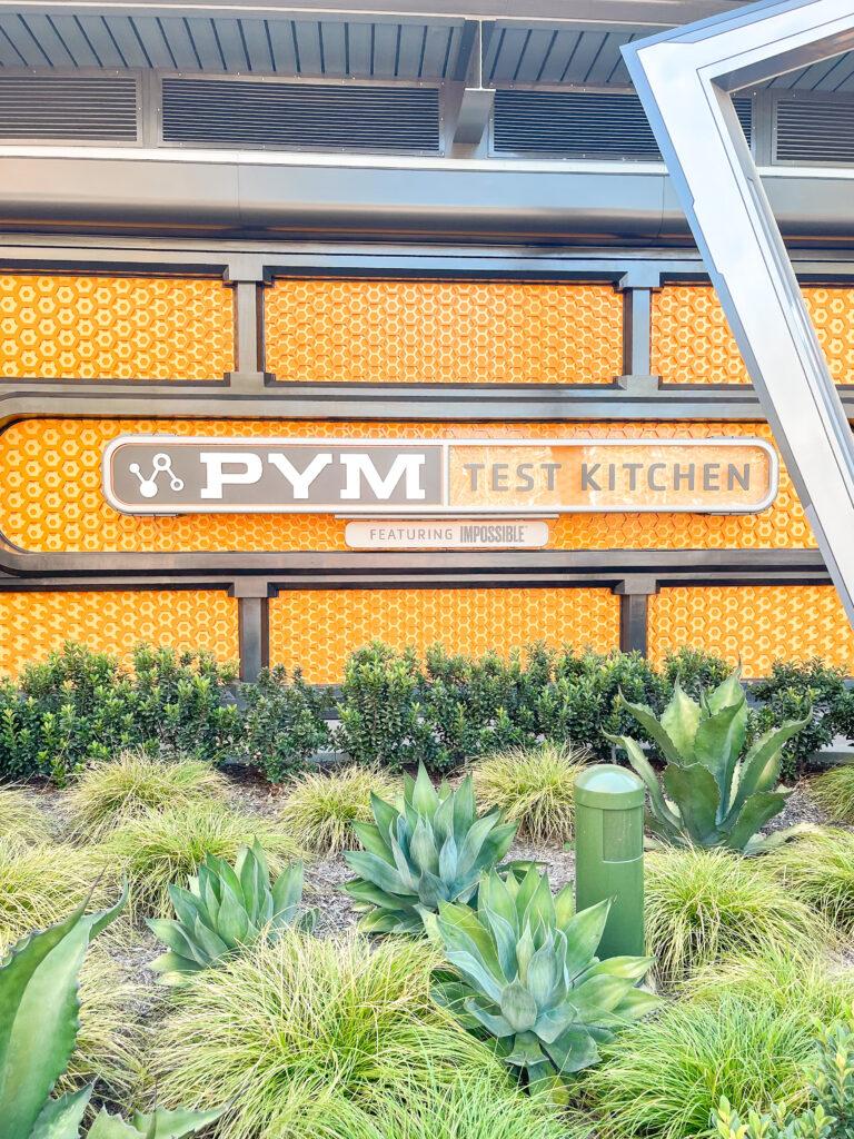 Pym Test Kitchen in Avengers Campus at Disneyland.