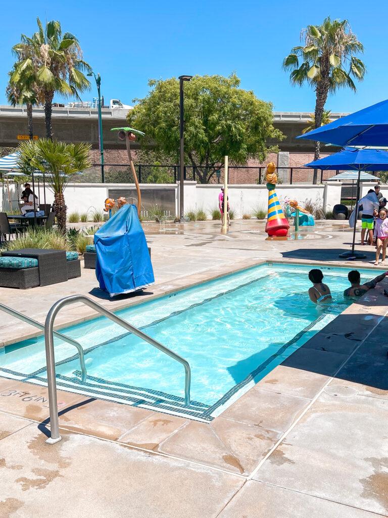 Cambria Hotel & Suites hot tub.