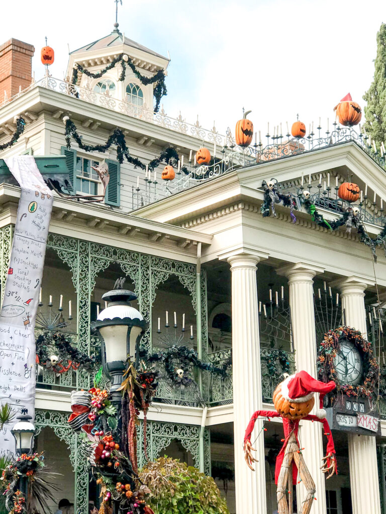Haunted Mansion Holiday.