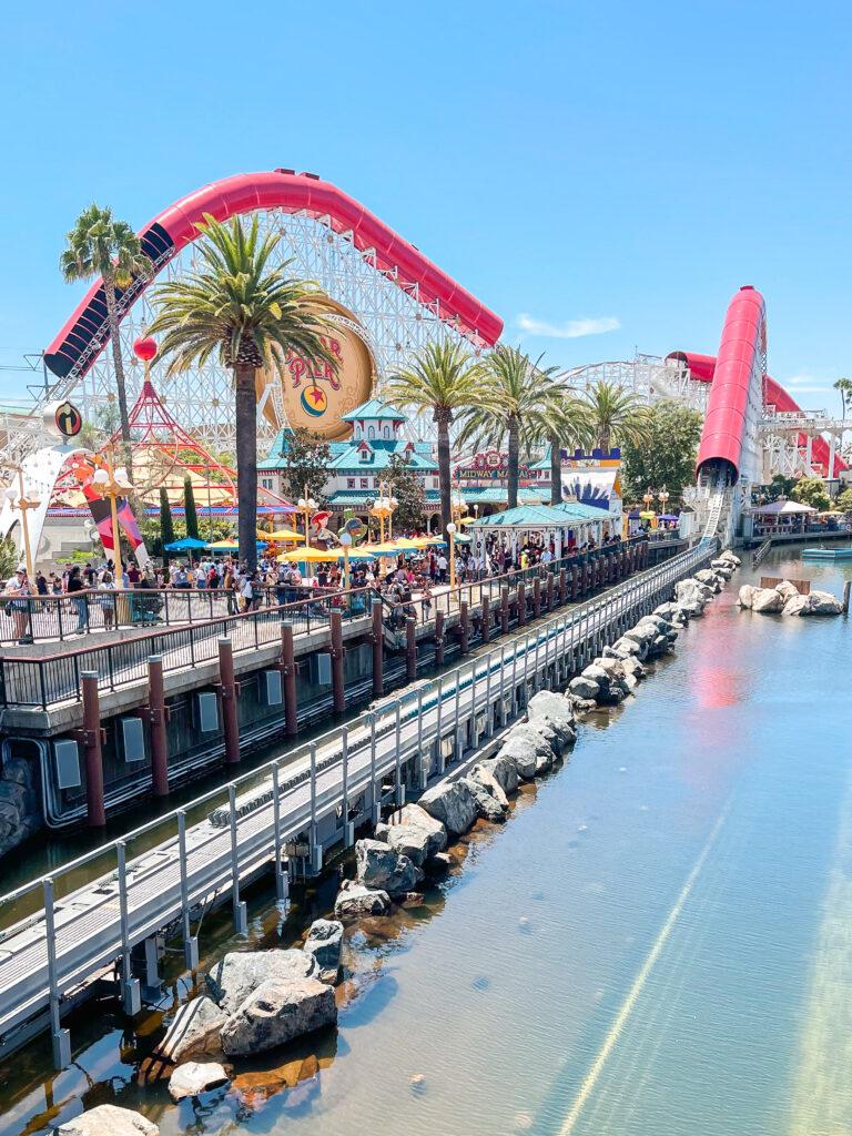 Pixar Pier at Disney California Adventure Park.