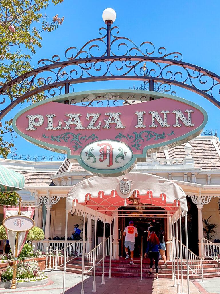 Plaza Inn restaurant at Disneyland.