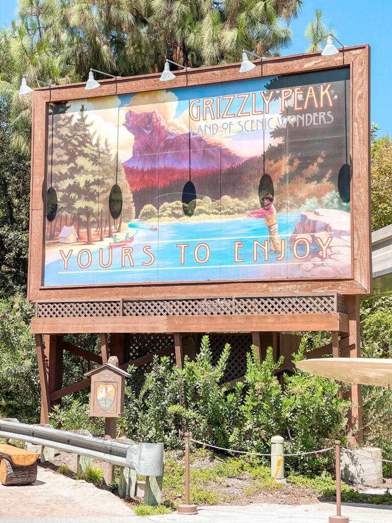 Grizzly Peak at Disney California Adventure.