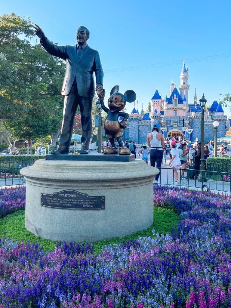 Partners Statue at Disneyland.