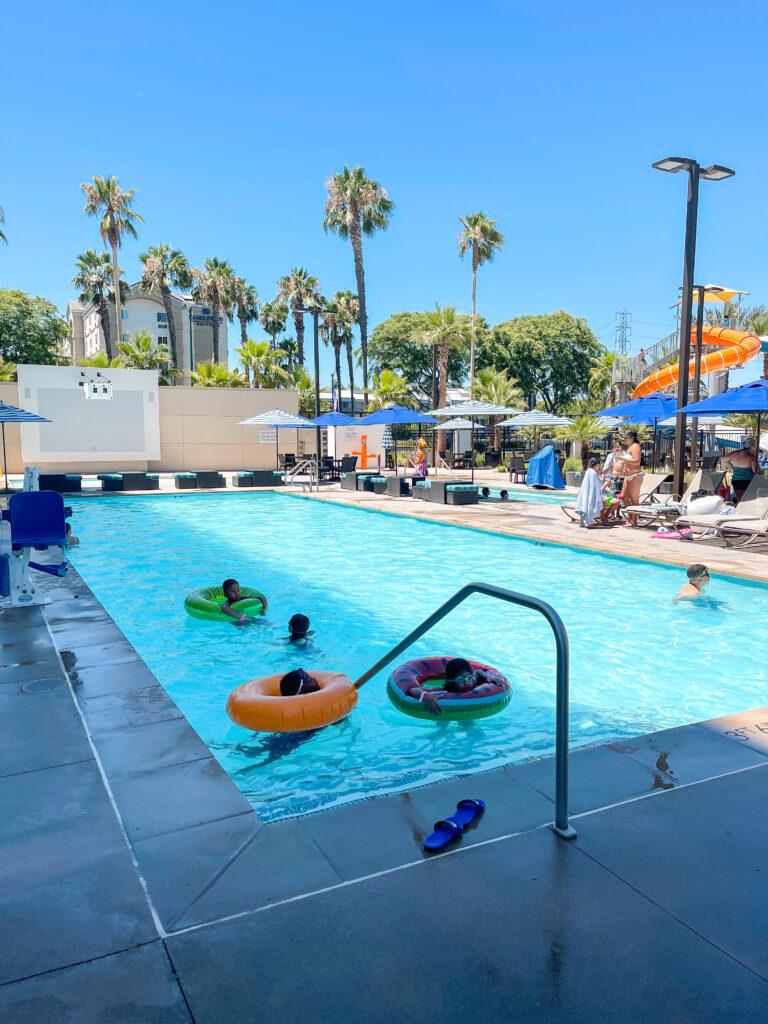Cambria Hotel & Suites Anaheim swimming pool.