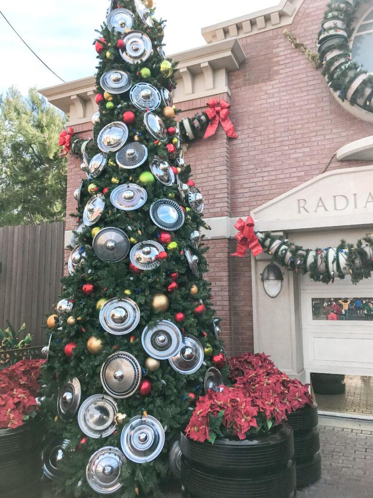 Radiator Springs Christmas Tree.