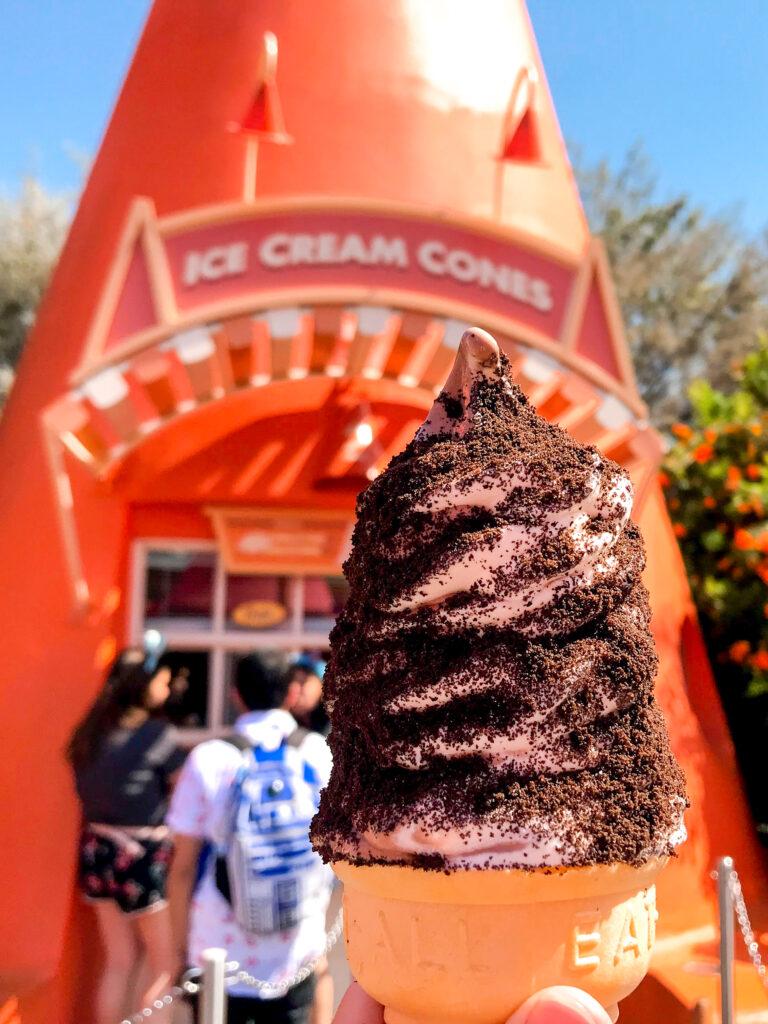 Ice Cream Cone from Cozy Cone Motel at Disneyland.